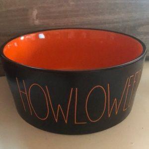 Rae Dunn Accessories - Rae Dunn HOWLOWEEN dog bowl